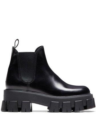 Prada slip-on Chunky Boots - Farfetch