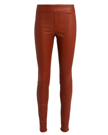 Helmut Lang | Lambskin Leather Leggings | INTERMIX®