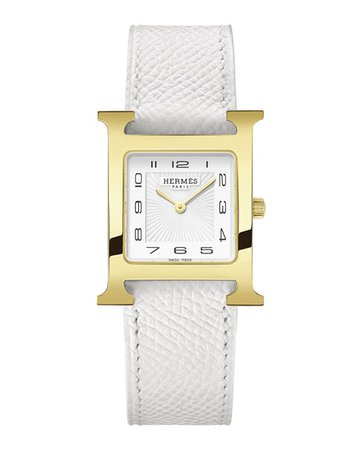Hermès Heure H Watch, 26 x 26 mm | Neiman Marcus