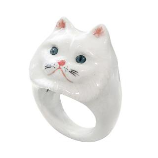 Persian cat ring 75.00€ Nach Bijoux