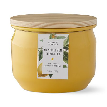 Meyer Lemon Citronella Candle Tin | Williams Sonoma