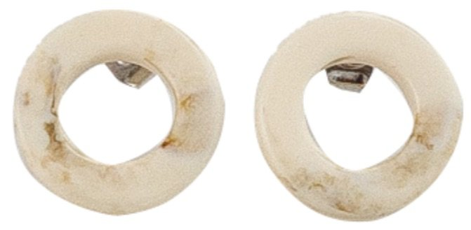BANHARU  Natural Circle Earring