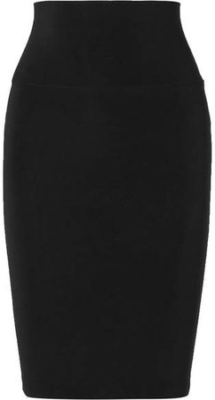 Stretch-jersey Skirt - Black