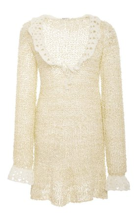 Silk Cashmere Ruffle Knit Sweater by Rodarte | Moda Operandi