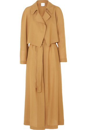 Agnona | Wool and cashmere-blend trench coat | NET-A-PORTER.COM