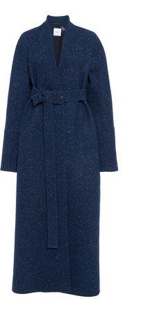 Agnona Melange Cashmere Trench Coat