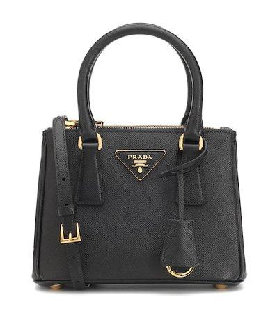 Galleria Mini saffiano leather tote