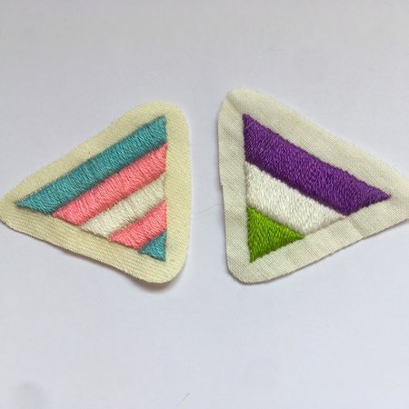Pride Patches Gay Lesbian Bisexual Transgender Pansexual | Etsy