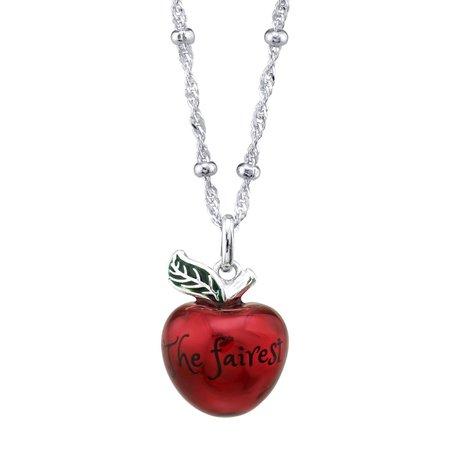 Disney X RockLove Snow White and the Seven Dwarfs Fairest Apple Necklace – RockLove Jewelry