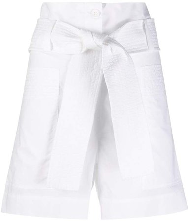 tie waist shorts