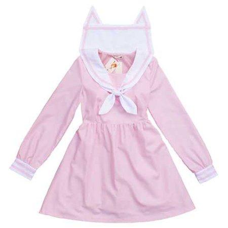 Harajuku Lolita Orecchiette Sailor collar dress on Storenvy