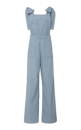 Alix of Bohemia Olivia Striped Overalls Jumpsuit