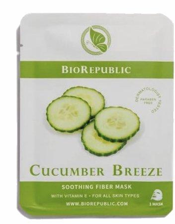 biorepublic cucumber breeze sheet mask