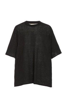 Copain Oversized Knit Linen T-Shirt By St. Agni | Moda Operandi