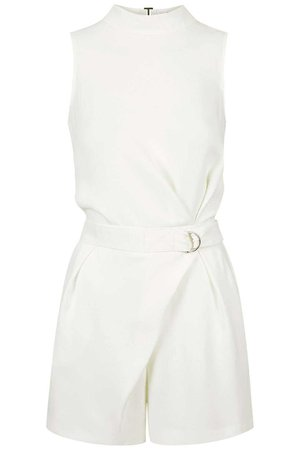D-Ring High Neck Playsuit