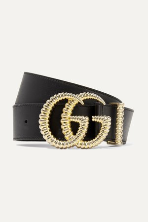 Black Leather belt | Gucci | NET-A-PORTER