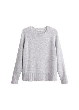 MANGO Wool-blend knit sweater