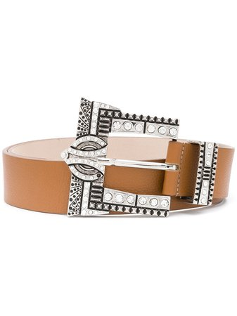 B-Low The Belt Embellished Leather Belt - Farfetch