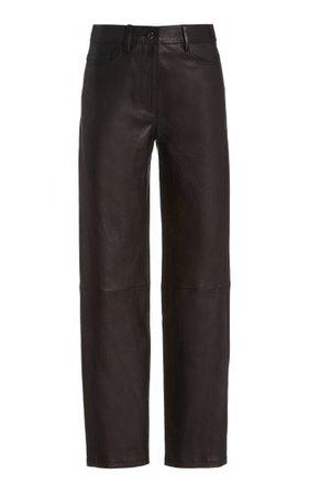 Teddy Stretch-Leather Pants By Joseph   Moda Operandi