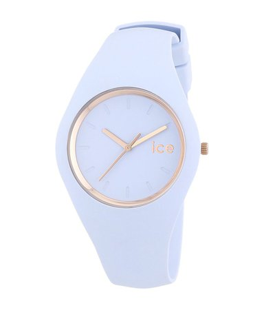 pale blue watch
