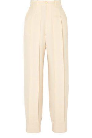 Gucci | Pantalon fuselé en laine à plis plats | NET-A-PORTER.COM