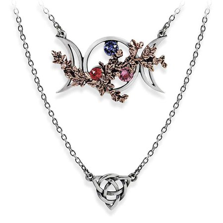 Wiccan Goddess Necklace - Women's Romantic & Fantasy Inspired Fashions