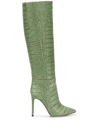 Paris Texas, Crocodile Effect 100mm Boots