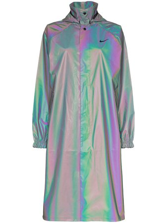 Nike Iridescent Raincoat - Farfetch
