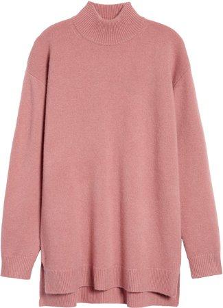 Wool & Cashmere Turtleneck Sweater