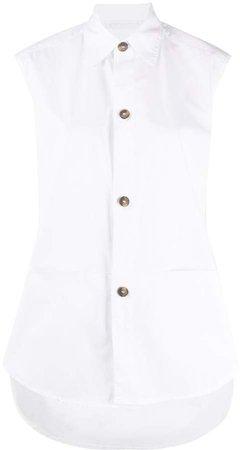 Sleeveless Tunic Shirt