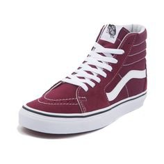 Pinterest (red high top vans) (84)