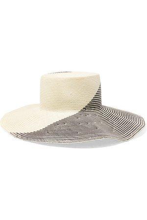 Eugenia Kim | Annabelle two-tone straw hat | NET-A-PORTER.COM