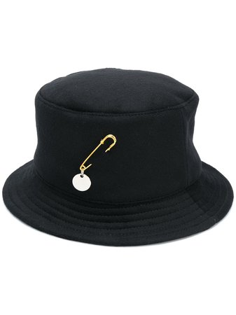 Ruslan Baginskiy pin-detail Bucket Hat - Farfetch