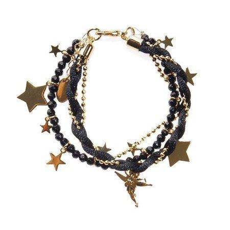 Bracelet with stars.