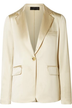 Nili Lotan | Sophia silk-satin blazer | NET-A-PORTER.COM