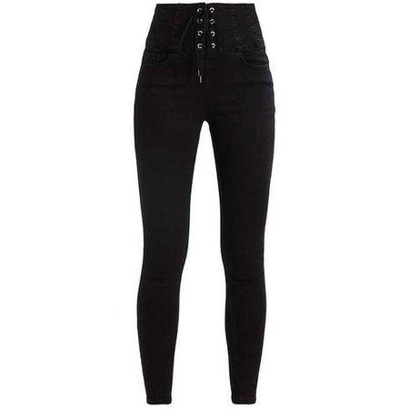 LOLA CORSET Jeans Skinny Fit black