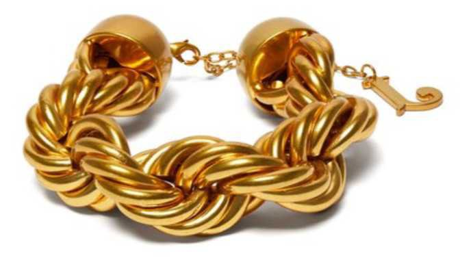 jacquemus huge bracelet
