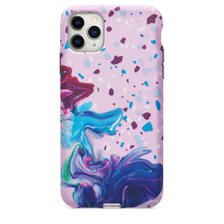 Tech21 Remix in Motion Case for iPhone 11 Pro Max - Purple - Apple