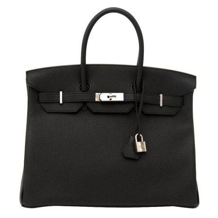 Hermes Birkin Black Togo 35 PHW