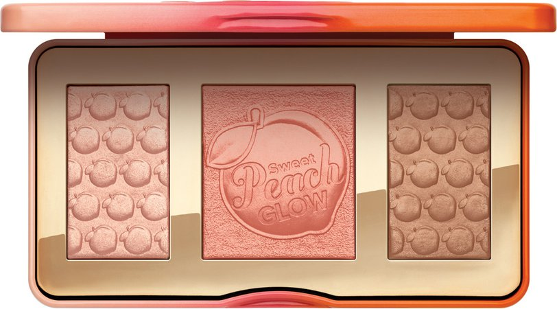 too faced peach highlighting palette