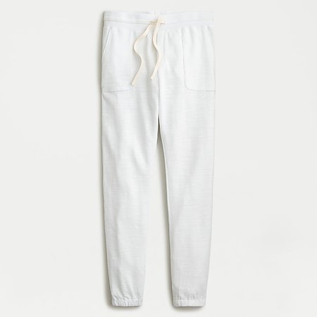 J.Crew: Relaxed Jogger Pant In Vintage Cotton Terry For Women
