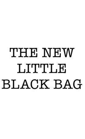 the new little black bag