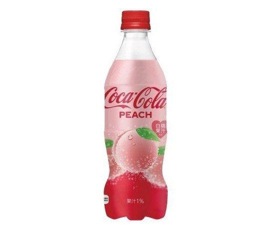 Peach Coca-Cola (Coke) 2019 Edition – OMG Japan