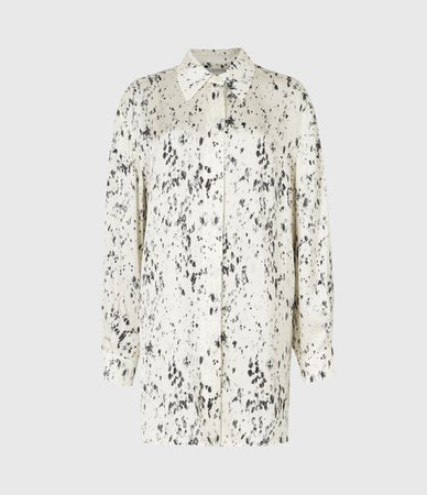 ALLSAINTS US: Womens Eleanor Yermo Shirt (ecru_white)