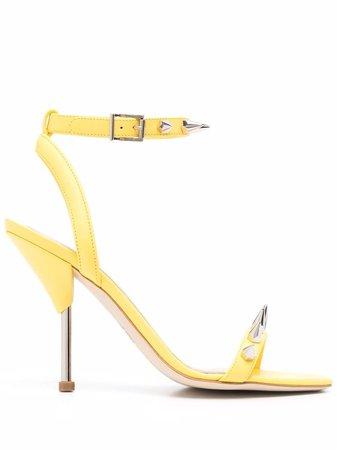 Alexander McQueen spike-stud Stiletto Sandals - Farfetch