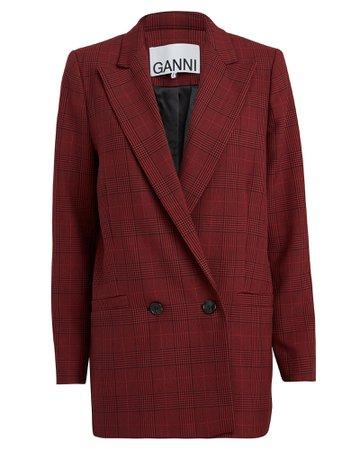Samba Checked Suiting Blazer