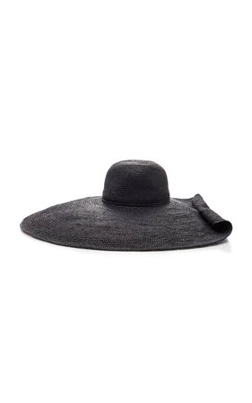 Oversized Embellished Straw Hat by Sensi Studio | Moda Operandi