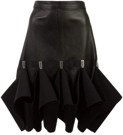 Hook ruffle detail skirt
