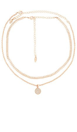 Ettika Layered Chain Necklace in Gold | REVOLVE