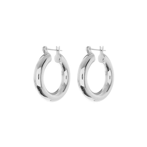 silver earring png